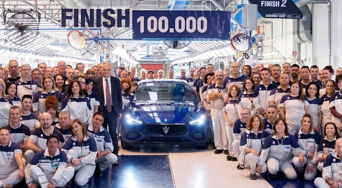 100 Bininci Maserati Üretildi!