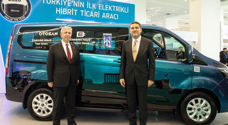 Elektrikli Ford'lar Ankara sokaklarında