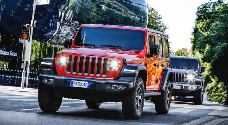 Yetenekli SUV: Jeep Wrangler!