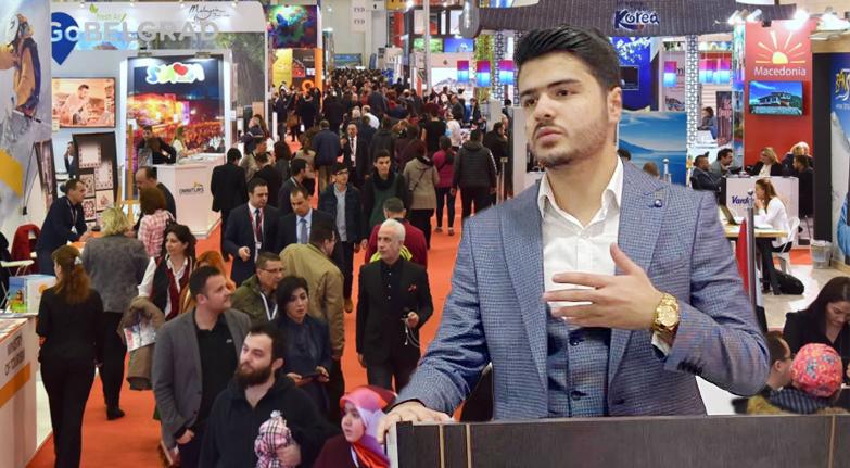 Irak'lı influencer EMITT fuarında