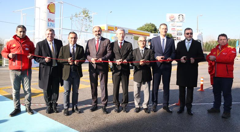 İlk LNG istasyonu açıldı