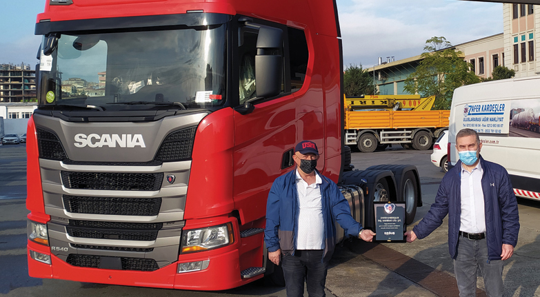 Zafer'e özel Scania
