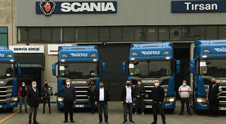 Düztaş Scania aldı