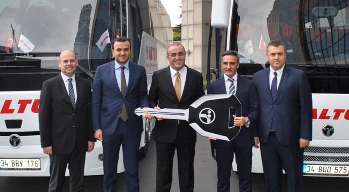 Altur'un gözbebeği Temsa otobüsleri