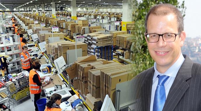 Amazon Lojistiğe girdi