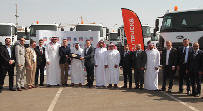 Arabistan'da Ford Trucks ağırlığı