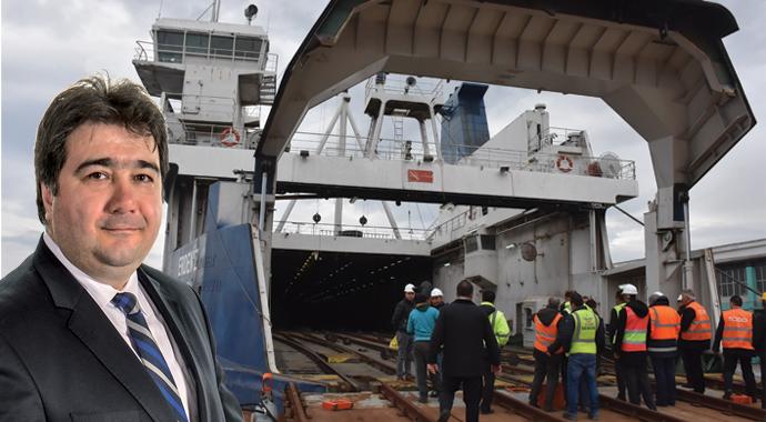 Bandırma-Tekirdağ Tren Feribot seferi başladı
