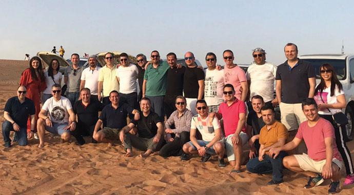 Başarılı VW ekibine Dubai ödülü