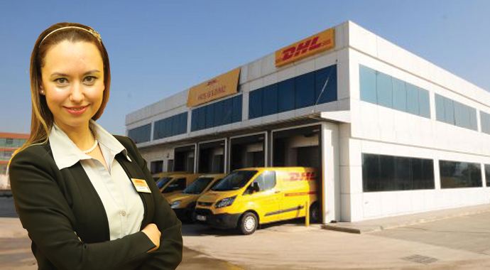 DHL'in Ankara'ya İlke Aksu atandı
