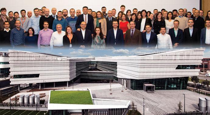 Ford Otosan'ın ofisleri Yeşil diplomalı