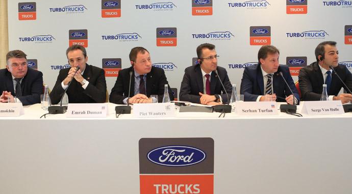 Ford Trucks şimdi Rusya'da daha güçlendi