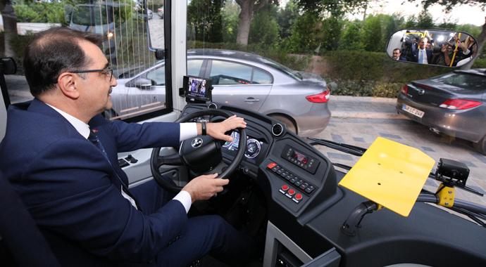 Geleceğin otobüsü