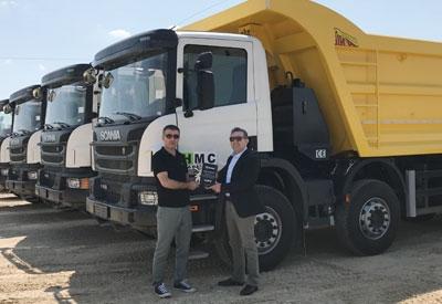 HMC'nın gücü Scania