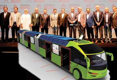 Isuzu geleceğin otobüsünü tanıttı