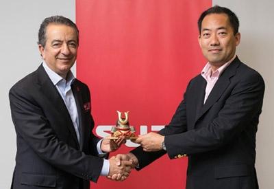 Japon Isuzu, Tamay'ı ödüllendirdi