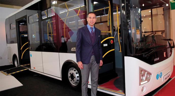 Karsan Otobüsü prize taktı
