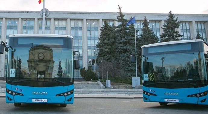 Moldova 31 adet Isuzu aldı