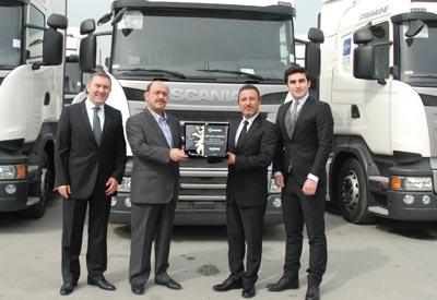 Netlog 10 adet Scania aldı