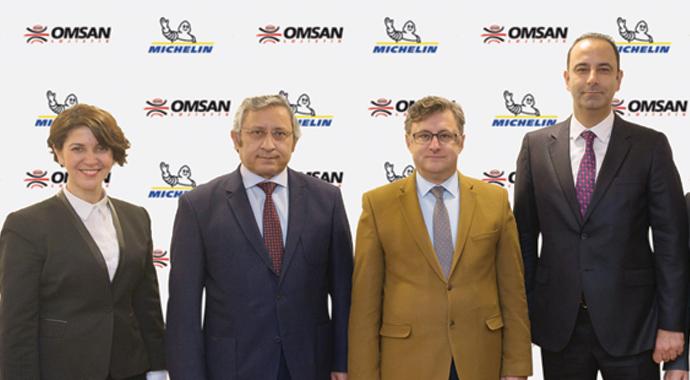 Omsan'ın lastikleri Michelin