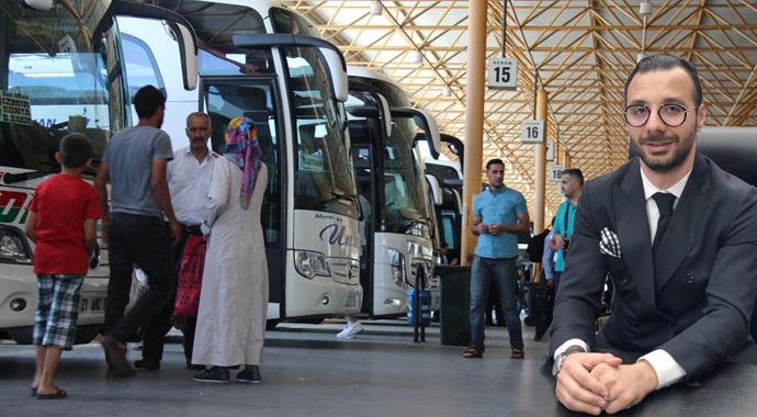 Otobüslerin payı yüzde 50