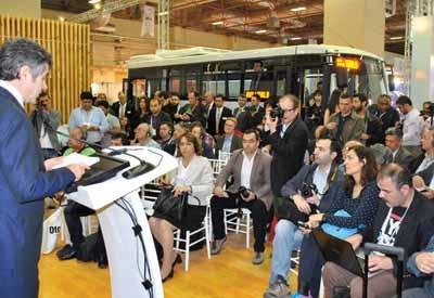 Otokar, Busworld'a 8 aracıyla katıldı