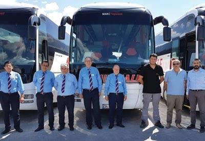 Pamukkale 22 adet otobüs aldı