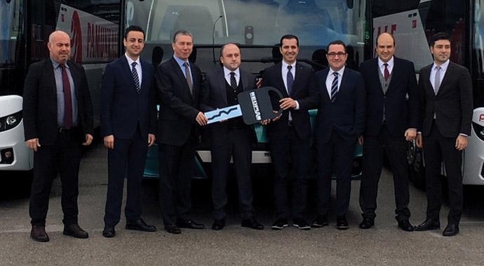 Pamukkale 41 otobüs aldı