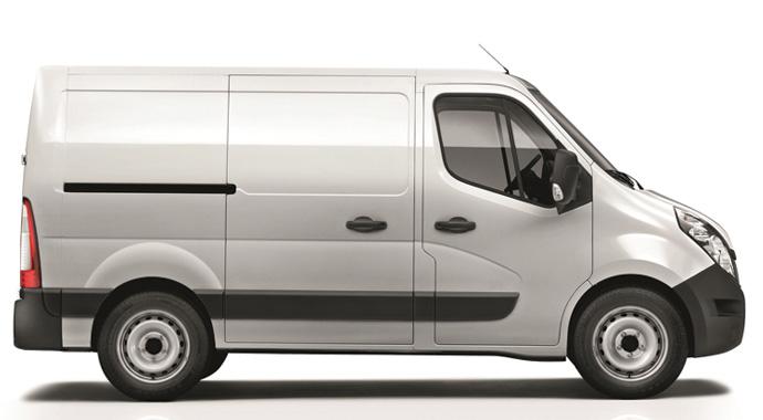 Renault Master'ın kısa şasini üretti