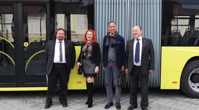 Romanya'nın otobüsü Türkiye'den