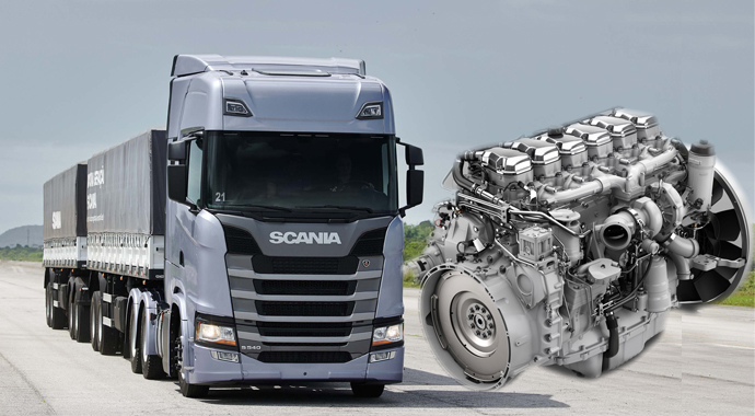 Scania ile güce hükmet