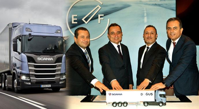 Scania pazar payını arttırdı