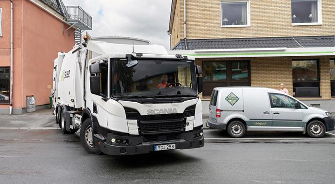 Scania şehiriçi araçlarını tanıttı