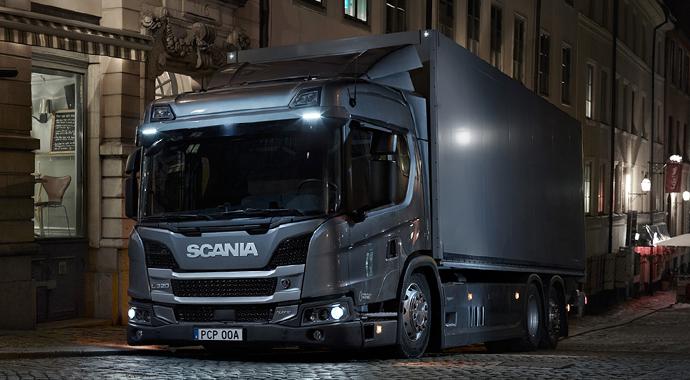 Scania yılın hibrid aracı