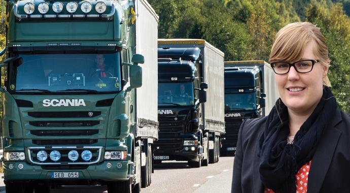 Scania'yı kadınlar geliştiriyor