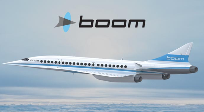 Sesten daha hızlı uçak üretildi
