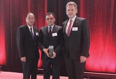 Toyota'dan Bosch'a altın ödülü