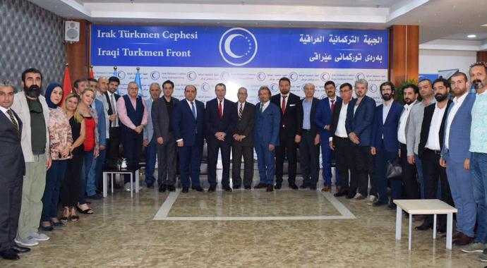 Türk iş adamları Irak'ta toplandı