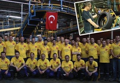 Türk Mühendisleri özel lastik geliştirdi