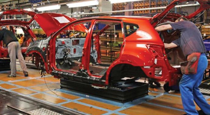 Türkiye'de krize inat bir milyon araç üretildi
