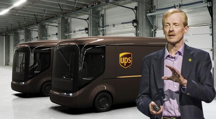 UPS elektrikli araç kullanacak