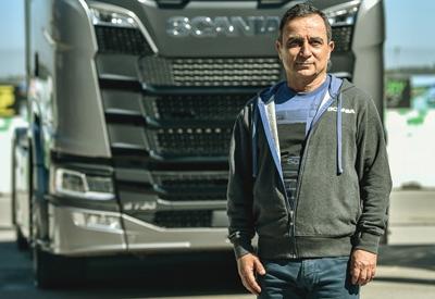 Yeni Scania Türkiye yollarında