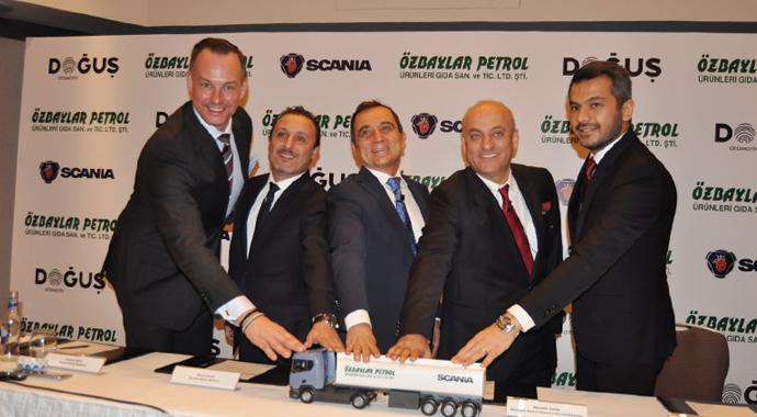 Yılın İlk büyük teslimatını Scania yaptı