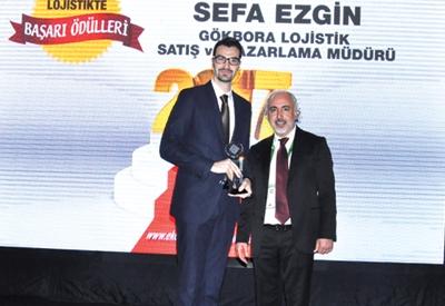 Yılın Lojistik Profesyoneli Sefa Ezgin