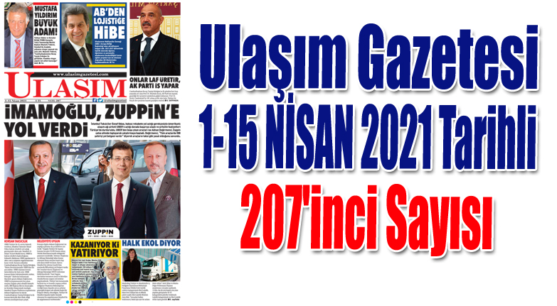 207'inci Sayı ULAŞIM GAZETESİ