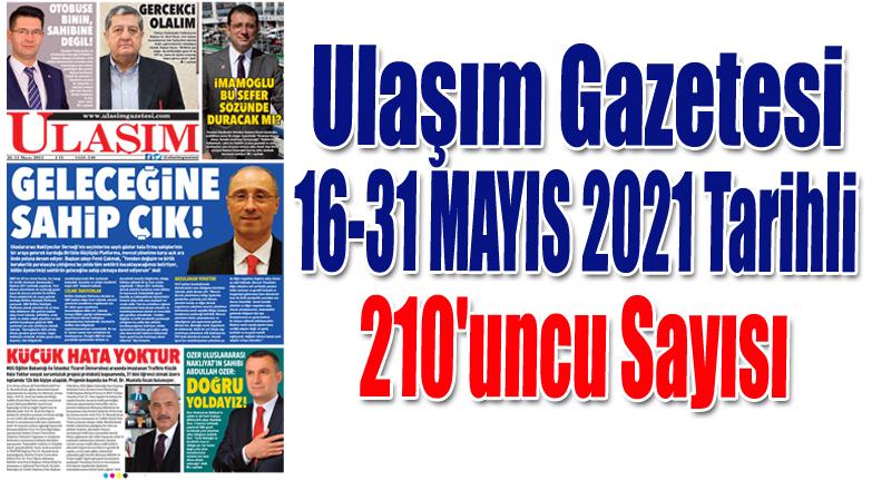 210'uncu Sayı ULAŞIM GAZETESİ