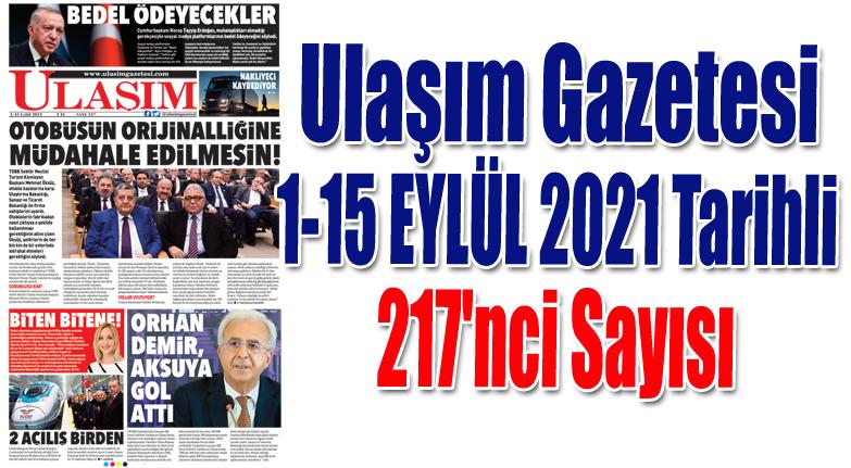 217'nci Sayı ULAŞIM GAZETESİ