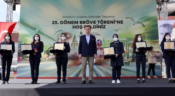 Metrolara kadın İstanbul'a 88 yeni kadın makinist