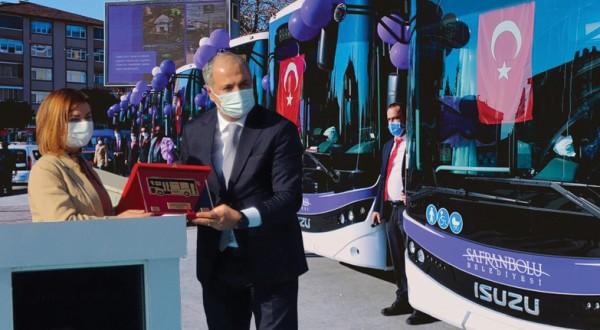 Virüsün giremediği otobüs