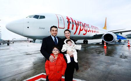 Yeni uçağın ismi Zeynep