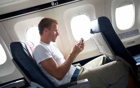 Uçaklarda telefon ve tablet kullanılabilecek